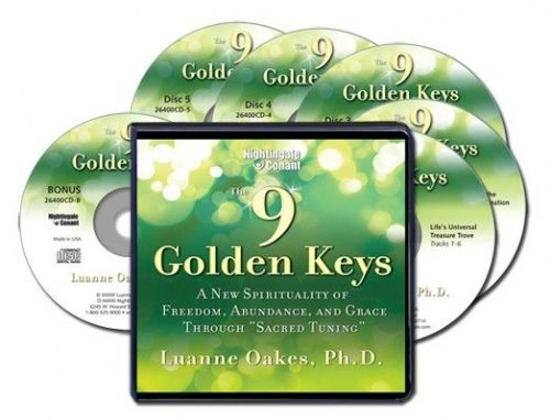 "The 9 Golden Keys: A New Spirituality of Freedom, Abundance and Grace through ""Sacred Tuning"""